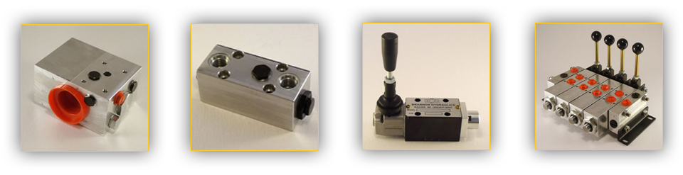 Featured products of Brannon Hydraulics, including flow controls and check valves.